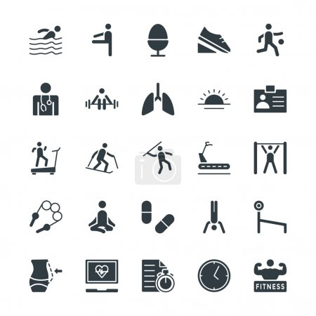 Fitness Cool Vector Icons 4