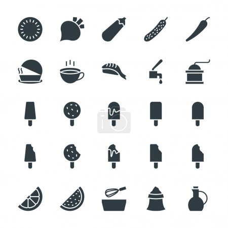 Food Cool Vector Icons 6