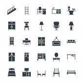 Furniture Cool Vector Icons 4