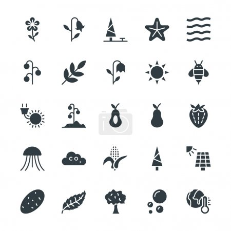 Nature Cool Vector Icons 4