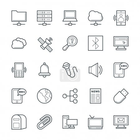 Communication Cool Vector Icons 5