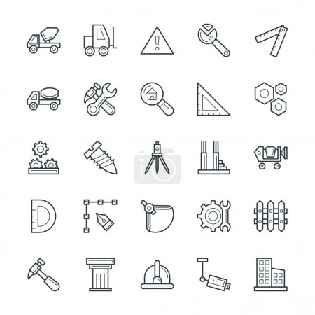 Construction Cool Vector Icons 3