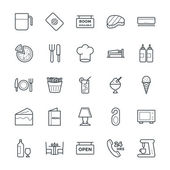 Hotel  Restaurant Cool Vector Icons 5
