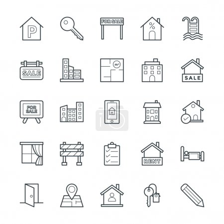 Real Estate Cool Vector Icons 4