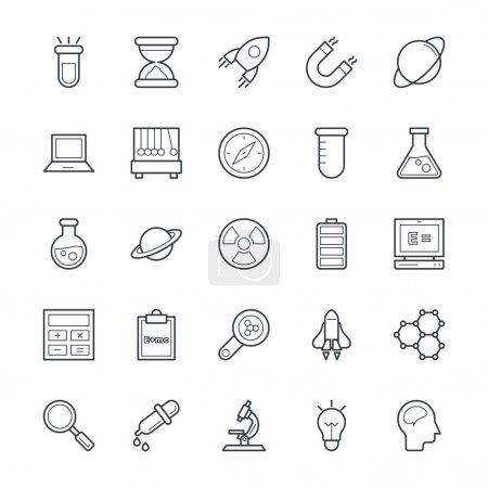 Science and Technology Cool Vector Icons 1