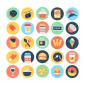 Food Flat Vector Icons 12