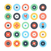 Flowers Vector Colored Icons 2