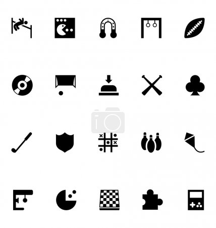 Video Game Vector Icons 1