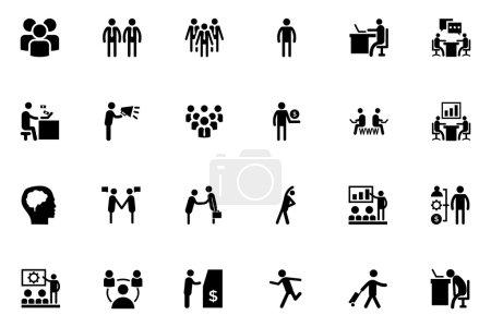 Human Vector Icons 1