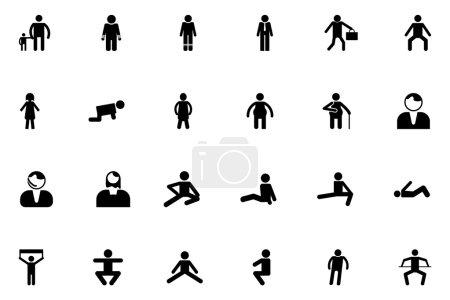 Human Vector Icons 5