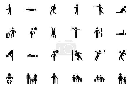 Human Vector Icons 4