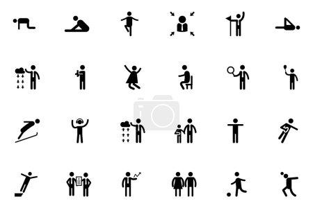 Human Vector Icons 7