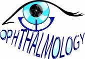 Ophthalmology Eye care logo