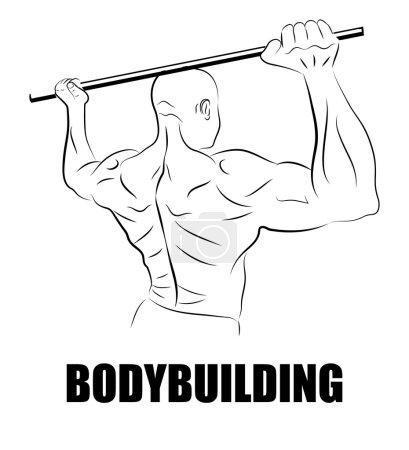 Athlete or bodybuilder