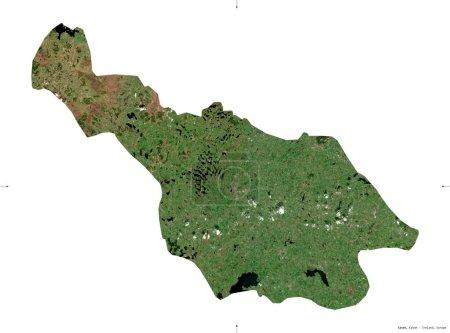Cavan, county of Ireland. Sentinel-2 satellite ima...