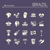 Flat icons Brazil 6