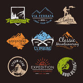 Labels on the theme of Climbing