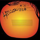 Ilustrace helloween desky