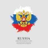 Flag of Russia Coat of Arms