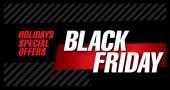 Black friday poster. Sale
