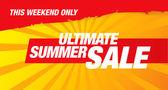 Ultimate summer sale