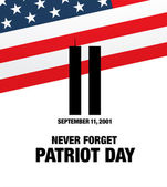 Patriot Day September 11 We will never forget