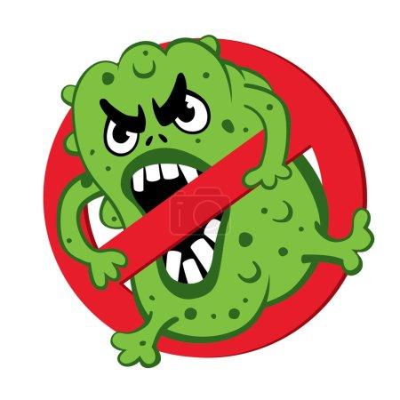sign ban bad microbes