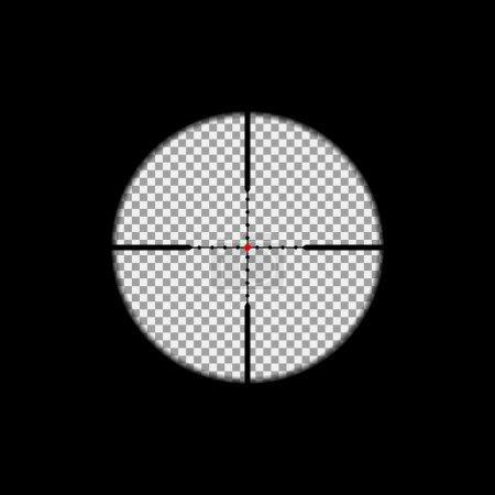 Sniper scope overlay