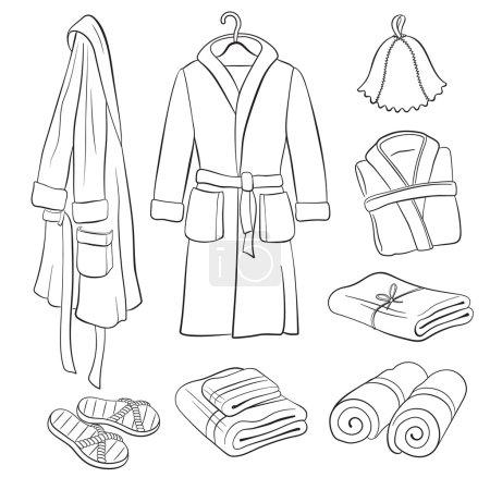 Bath clothes collection