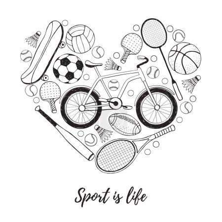 I love sport poster