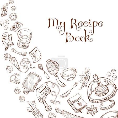 Recipe book cover concept