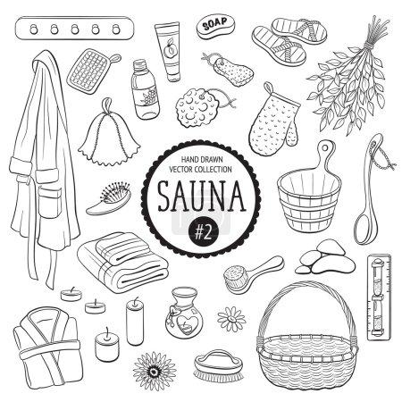 Sauna and spa objects