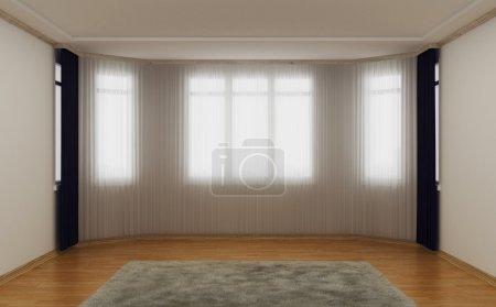 Empty living room.