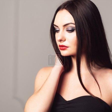 Studio shoot of woman with creative make-up