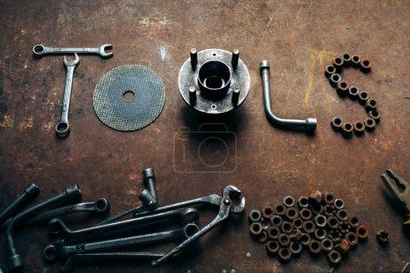 Tools. Conceptual photo