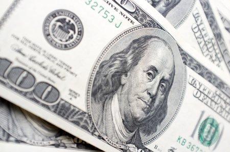 It is a lot of 100 dollar bills