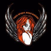 Day of dead sexy girl dark angel