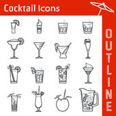 Cocktail IconOutline