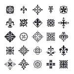 Vector Illustration of Moroccan tiles symbol for D...