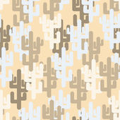 Military texture of cactus Camouflage army