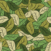 Military texture leaves Army camouflage of foliage Seamless pa