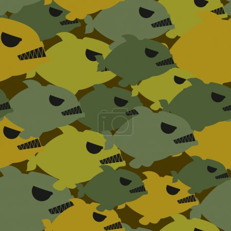 Army military camouflage from Piranha. Protective texture for so