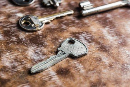 Many old keys