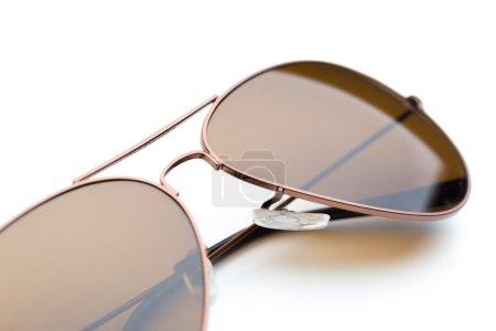 sunglasses closeup isolated