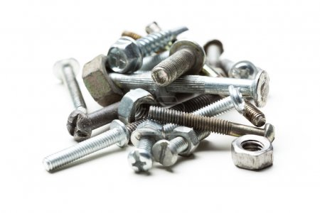 Chrome nuts and bolts