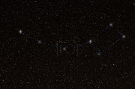 Ursa Minor, Little Dipper Constellation, Little Bear