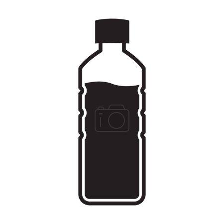 Illustration pour Icône de bouteille vecteur pour la conception de votre site Web, logo, app, UI. illustration - image libre de droit