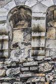 Medieval Fortress Rampart Rough Cut Stone Corbel Brackets