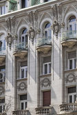 Facades of Belgrade - Former Russian Czar Restaurant Building Detail