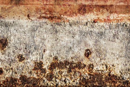 Old Rusty Metal Floater Surface